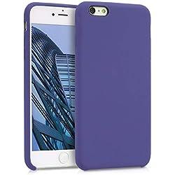 kwmobile Coque Apple iPhone 6 Plus / 6S Plus - Coque pour Apple iPhone 6 Plus / 6S Plus - Housse de téléphone en Silicone Iris