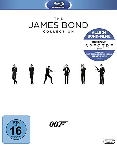 James Bond - Collection 2016 [Blu-ray] (Home Fox Entertainment)