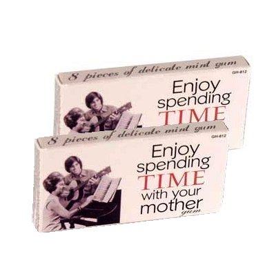 Kultiges Kaugummi TIME WITH YOUR MOTHER • Minzgeschmack
