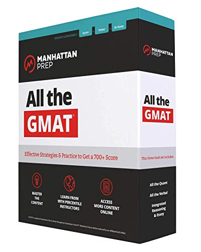 All the GMAT: Content Review + 6 Online Practice Tests + Effective Strategies to Get a 700+ Score (Manhattan Prep GMAT Strategy Guides)