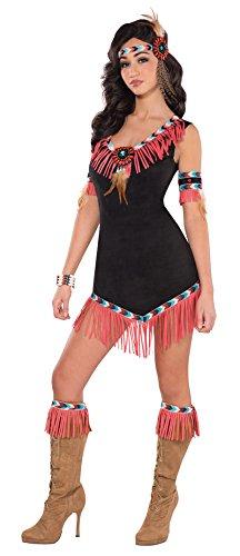 Indianer Prinzessin Kostüm Damen Gr 36-38