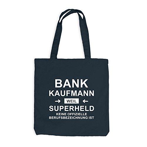 Borsa Di Juta - Supereroe Di Banchieri - Eroe Grigio Scuro