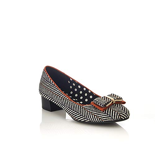 Ruby Shoo Womens Shoe June Tweed 7