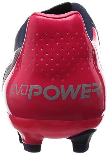 Puma evoPOWER 1.2 AG, Calcio scarpe da allenamento uomo Blu (Blau (peacoat-white-bright plasma 01))