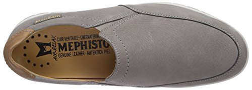 Mephisto - Leo Sportbuck 1905/Mano 3535 Light Grey, Scarpe chiuse Uomo Grigio (Grau (LIGHT GREY))