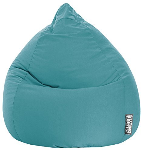 SITTING POINT only by MAGMA Sitzsack Easy XL ca. 220 Liter smaragd