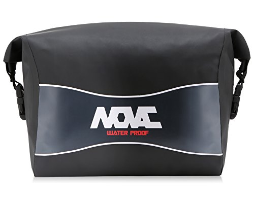 NOVAC GEAR ARON Plane 100% Motorrad Motocross Wasserdichte Packtasche Tasche mit verstellbarem Hüftgurt Anschließbar mit Basis-Hauptgriff-Sicherheitsgurt für Reiterreiten