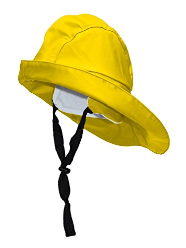 Yachticon crazy4sailing Damen Herren Südwester Pro, Farbe:gelb, Größe:S