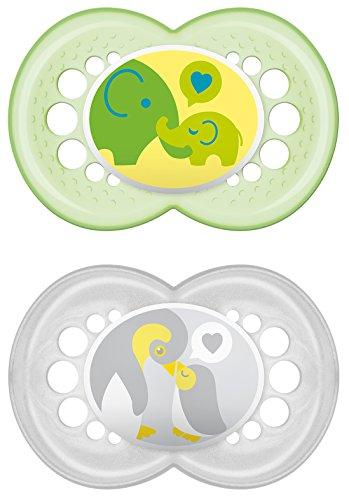Preisvergleich Produktbild MAM Babyartikel 66706020 Original Silikon 16+ neutral