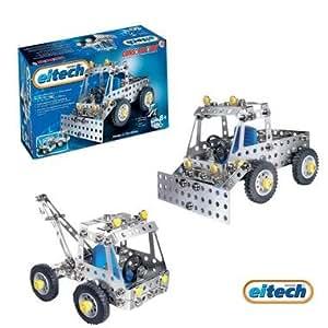 Eitech jeu de construction en métal mécanique Enfant 8 ans + Véhicules - Engin de chantier