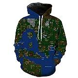 Jungen Männer Dchen Unisex 3D Karte Hoodies Sweatshirt Drucke Volle Mode Marken Jumper Nach Oben Arbeit Freizeit Sport Pullover