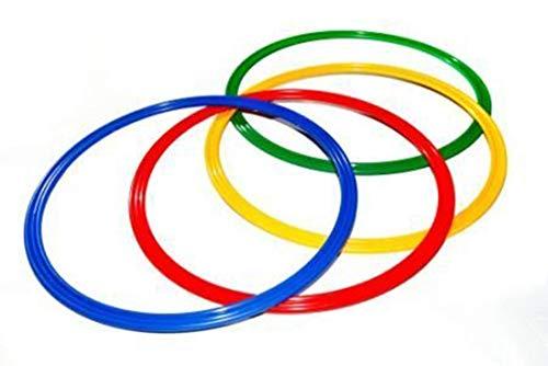 Agility Hundesport - 4er Set Ringe / Reifen Ø 60 cm, 4 Farben