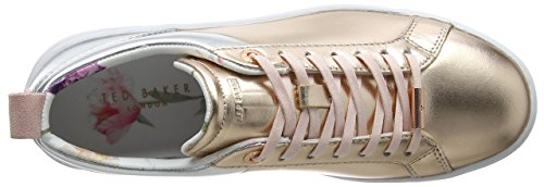 Ted Baker Kulei, Scarpe Running Donna Multicolore (Rose Gold/silver)