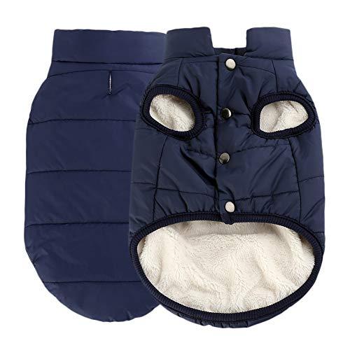 Handfly Hundemantel Wasserdichte Jacke mit Geschirr Loch warm Winter Winddicht Hund Kleidung Mantel Jacke für Kleine medium Große Hunde Grössen: XS-3X L