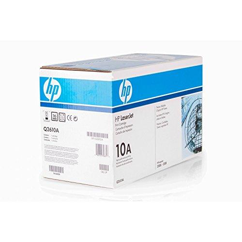 Original Toner passend für HP LaserJet 2300 DTN HP 10A , 10ABK , 10ABLACK , NO10A , NO10ABK , NO10ABLACK Q2610A - Premium Drucker-Kartusche - Schwarz - 6.000 Seiten