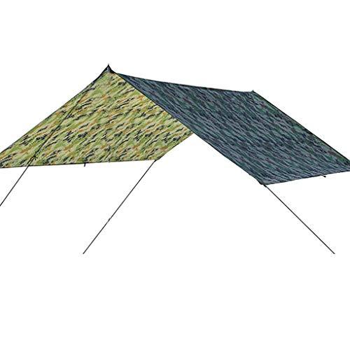 UHAoo Außen Große Überdachung Sonnenschutz Strand Camping-Zelt wasserdichte Bodenmatte Feuchtigkeitsbeständig Pad