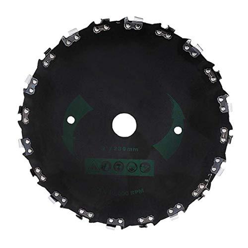 Universal 20 dents Faucheuse Lame à angle droit scie à chaîne Lame de scie débroussailleuse disque de jardin Accessoires machine