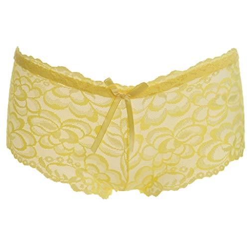 Maleya Modische niedrige Taille Nahtlose Unterhose Sexy Lace Tuck-In Hose Unterwäsche sammeln Unterwäsche mit BH Elastizität nahtlos Luftdurchlässigkeit Nahtlos Neuer Großer Still Mit Hoher