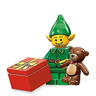 Lego Minifiguras 71002 Elfo navideño