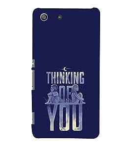 Love Quote 3D Hard Polycarbonate Designer Back Case Cover for Sony Xperia M5 Dual :: Sony Xperia M5 E5633 E5643 E5663