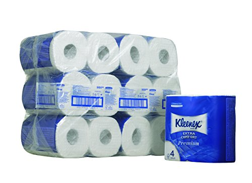 kleenex-toilet-tissue-rolls-product-code-8484-160-white-4-ply-sheets-per-roll-pack-contains-24-rolls
