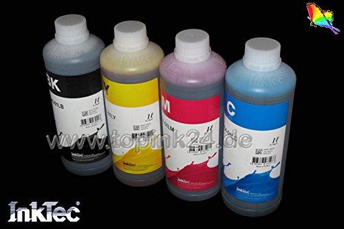 4x 1000ml 4x 1L Inktec dopo capacità inchiostro pigmentato Cenado–Inchiostro di Ink per cartucce Canon PGI-1500PGI-2500XL Maxify iB4050MB2050MB2350MB5050MB5350