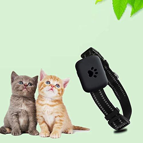 Wrqq Rastreadores De Mascotas para Perros Rastreo GPS Dispositivo En Tiempo Real Anti Perdido Rastreador Localizador Micro Inteligente Alarma Impermeable,Black,200 * 200 * 100mm