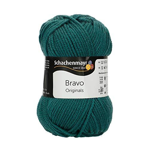 Schachenmayr Bravo 9801211-08068 teal Handstrickgarn, Häkelgarn -