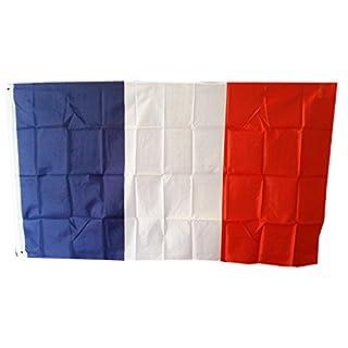 Französische Flagge - 150 cm von 90 cm / 5 'x 3' / Polyester / Frankreich / Bastille-Tagesandenken