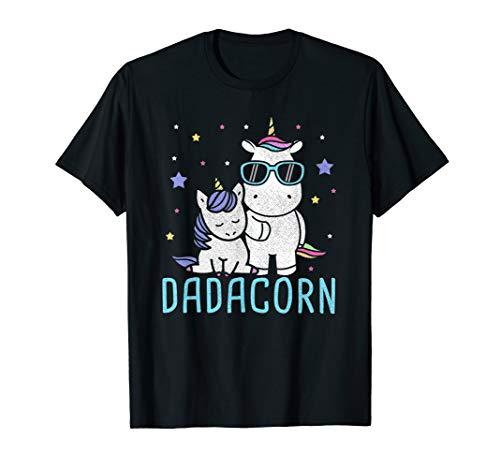 Kostüm Besten Tochter Vater - Einhorn Papa Kostüm Baby und Tochter Vatertag Geschenk T-Shirt
