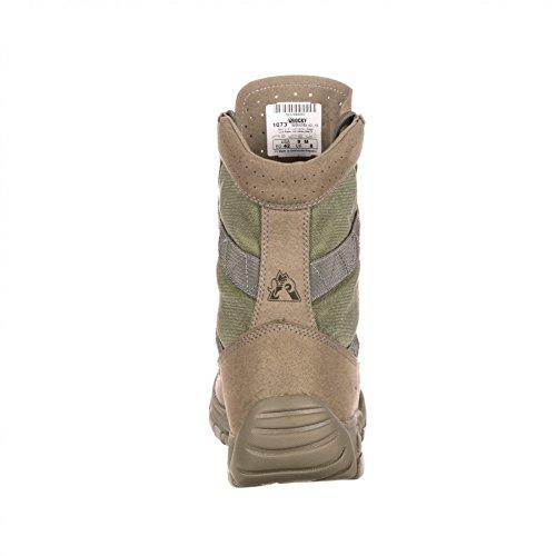 FB Fashion Boots Rocky Boots FQ0001073 W C4T Trainer Military Green/Herren Military Stiefel Grün/Outdoorstiefel/Armeestiefel Green (Weite W)