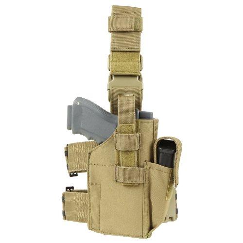 CONDOR TLH-003 Tactical Leg Holster Coyote Tan -