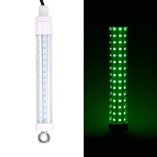 Lepeuxi 10 watt 12 v 120 LEDs Angeln licht anziehende Fische Unterwasser Nacht Locken lampen Fisch Finder licht für Boote Docks Angeln -