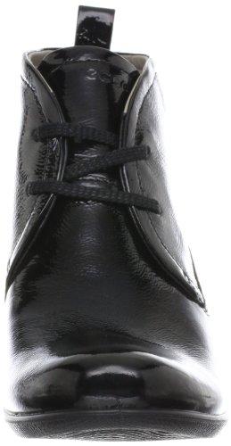 Ecco SCULPTURED 65 233533, Chaussures montantes femme Noir (Black/Lack 14001)