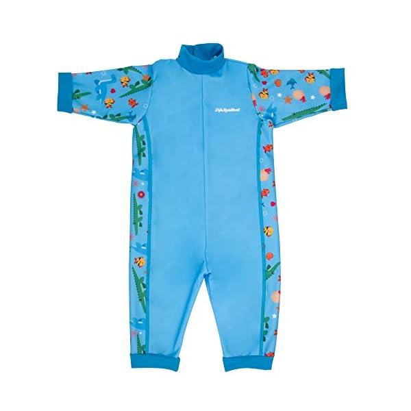 LifeStyleMall - Traje de baño de bebé cálido en uno - diseños lindos - niños niñas unisex 1