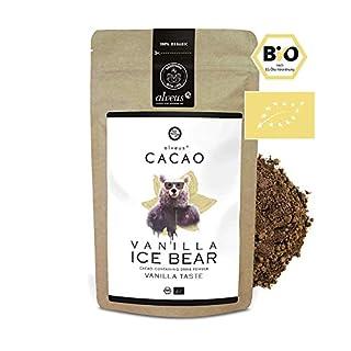 alveus® Cacao BIO Vanilla Ice Bear - Kakaomischung mit Kakaopulver*, Kokosblütenzucker*, Macawurzel*, natürliches Aroma, Vanille* (1%). *Aus kontrolliert biologischem Anbau