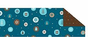 Ursus 12594601 Winterzauber - Caja de cartón, Color Azul y marrón