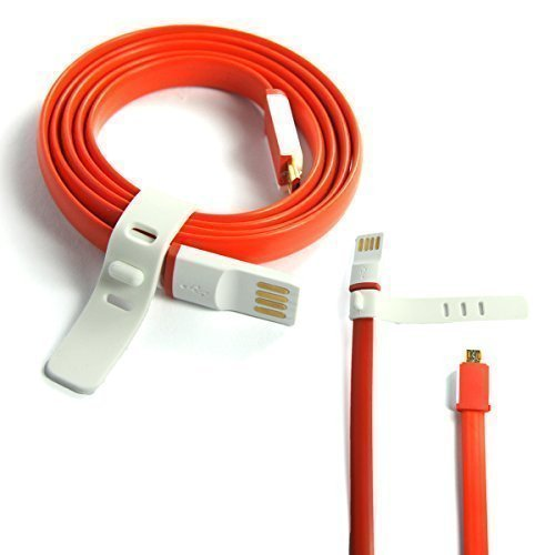 80CM superschnelles flaches Anti-Tangle-USB-Datenkabel - Ladekabel - Daten-Synchronisierungskabel - Datenübertragungskabel für One Plus (Oneplus One) Generation 1
