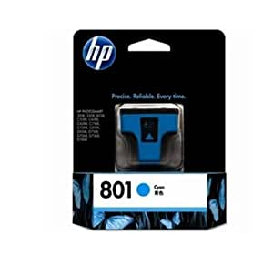 HP 801 Original Ink Cartridge, Cyan