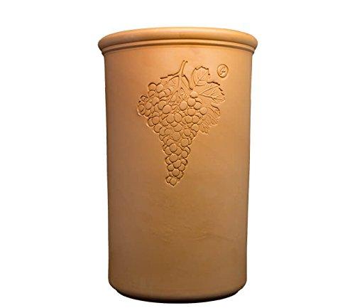 Terracotta Weinkühler Rustic Seau à vin en terre cuite