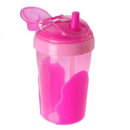 Vital Baby Kinder Strohhalmbecher - 300ml pink