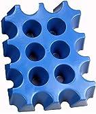 Was ist der sl-EISBLOCK?   der sl-EISBLOCK ist eine Form, die mit Wasser gefüllt eingefroren wird. Den entstehenden Eisblock steckt man über die Flaschenhälse von Getränkekästen um damit eine kühlende Wirkung zu erzielen.   Maße: 33 cm x 25 cm x 6 cm...