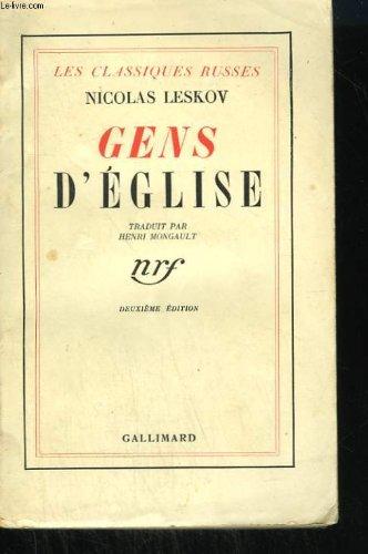Gens d'eglise par Leskov N