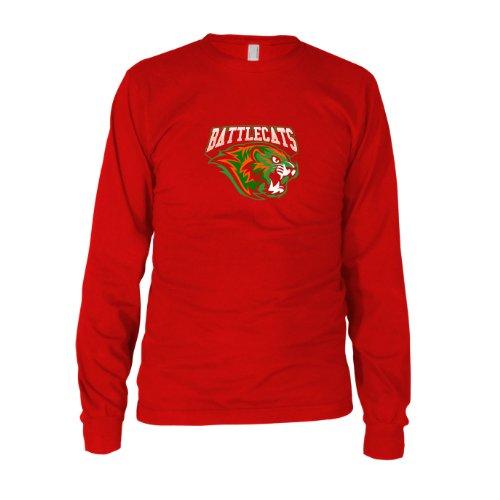 Battlecat Kostüm - MotU: Battle Cats - Herren Langarm T-Shirt, Größe: XXL, Farbe: rot