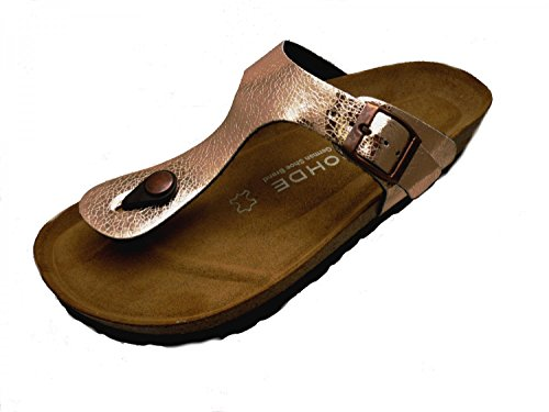 Rohde Damen Alba Pantoletten, Braun (Kupfer), 39 EU (Schuhe Kupfer)