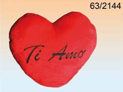 San valentino cuore peluche ti amo xxl gigante rosso circa 60 cmcuore peluche ti amo xxl gigante rosso circa 60 cm