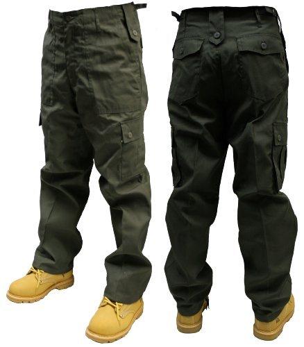 Urban Couture Clothing -  Pantaloni sportivi  - Uomo verde - oliva