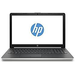 "HP Notebook 15-da0039ns - Ordenador Portátil 15.6"" HD (Intel Core i5-8250U, 4 GB RAM, 1 TB HDD, Intel Graphics, Windows 10), Color Plata - Teclado QWERTY Español"