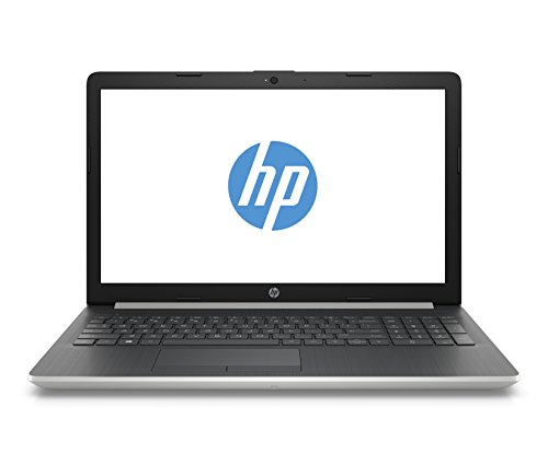 HP 15-da1002ng 43,9 cm (15,6 Zoll Full HD) Notebook (Intel Core i5-8265U, 8GB DDR4 RAM, 1TB HDD, 256GB SSD, Intel UHD Grafik, DVD-Writer, Windows 10 Home) silber, schwarz (15 Hp I5 Laptop Zoll)