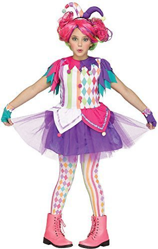 Fancy Me Mädchen Kinder Teens Leuchtend Hofnarr Clown -